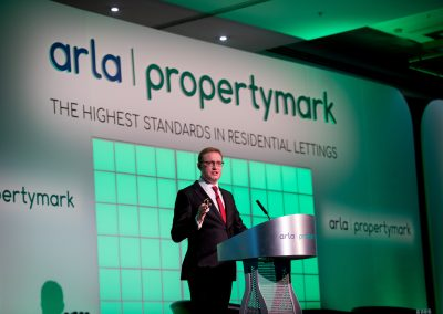 David Cox speaking at the Annual ARLA Conference