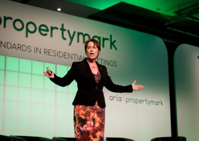 Sally Lawson speaking at the Annual ARLA Conference 002